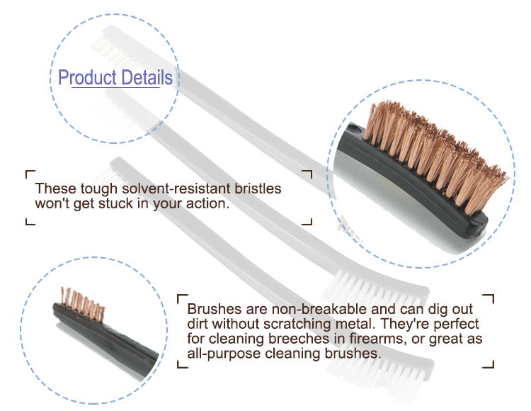 Pistol Cleaning Brush